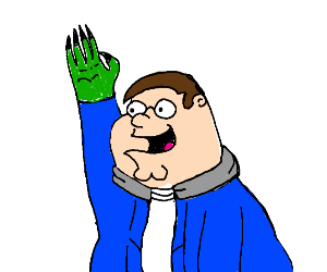 peter griffin becomes sans and Cthulhu