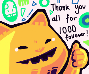 Coupari is celebrating 1000 followers!