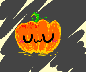 UwU pumpkin for the spoop season