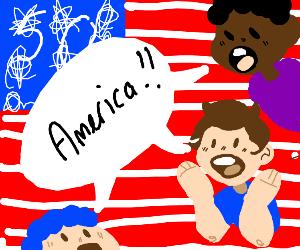 America x3