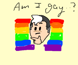 shiro isnt sure if hes gay