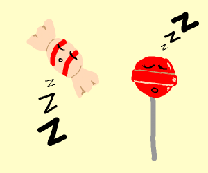 Sleeping candy