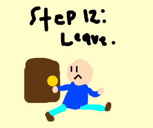 Step 11: Realize about Panel 10 self-destruct