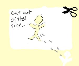 Cut-out Figure
