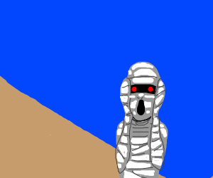 Mummy screaming