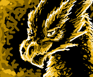 Dragon looks back at you tenderly