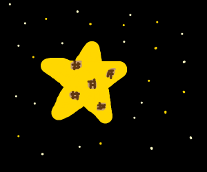 Waffles on a Star