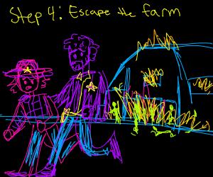 Step 3: burn the barn