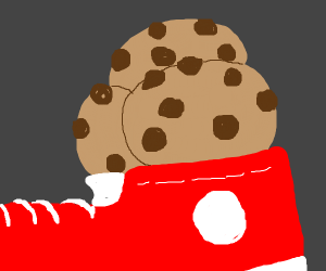 cookies in shoes