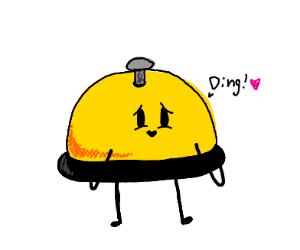 I create a ding!
