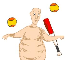 Globglogabgalab likes baseball