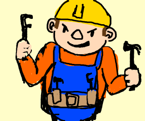 Evil bob the the builder