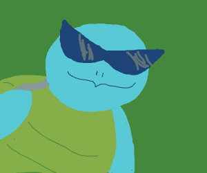 Squirtle Squad Squirtle Sporting Shades