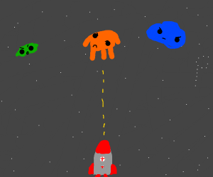 space themed video game
