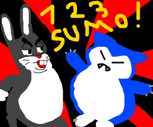 Big Chungus Vs Snorlax The Ultimate Showdown Drawception