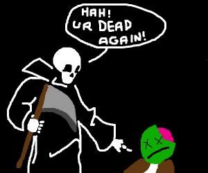 death kills zombie