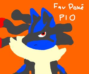 Fav Pokemon PIO