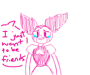 Spinel  (Steven Universe)wants to be friends