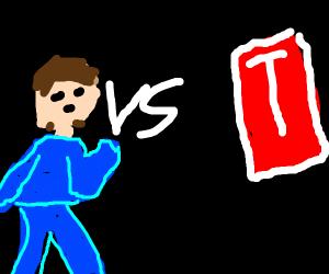 PEWDIEPIE VS T-BAD