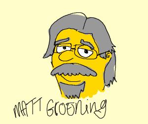 A snarky cartoonist