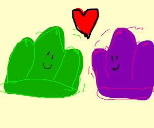 2 jellies fallin' in love