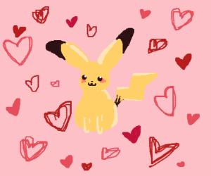 pikachu receives love