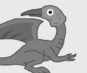 Dragon with a Bird's Head
