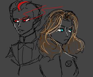 Dracula and Black Widow