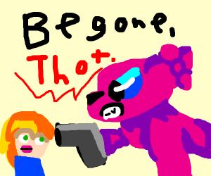 Begone Thot!