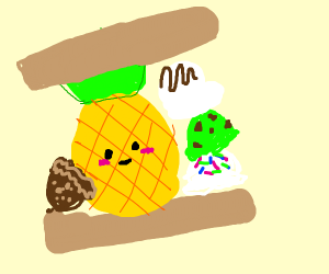 Will! It! Ice cream sandwich?