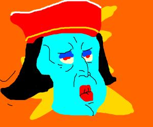 Farquaad as handsome squidward