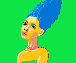 Marge Simpson but in HD