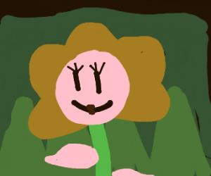 flowery pink girl