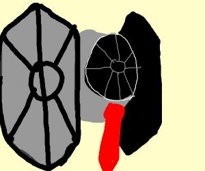 Tie Fighter wears a tie