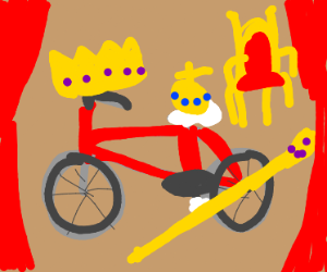 The king of bicycles