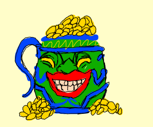 master jug is full of gold
