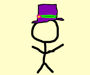Person with a hat