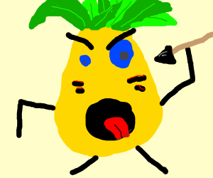 A Panic ATTACK Pineapple