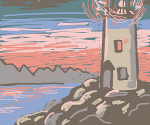 A lighthouse