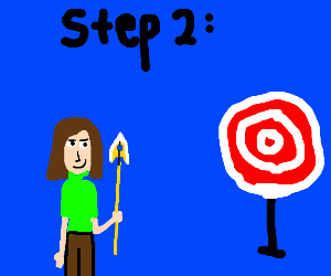 Step 1: acquire stand arrow