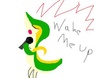 snivy singing wake me up inside