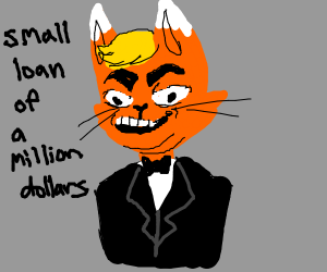 Donald Trump but he is a furry