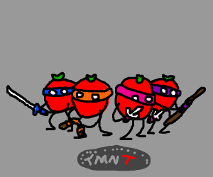 Teenage Mutant Ninja Tomatoes