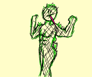 Strong Lizard Humanoid