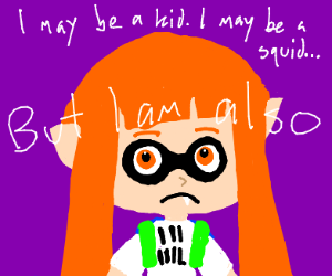 To kid or to squid, that is the question