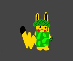 Guerrilla Pikachu