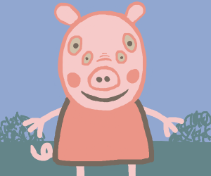 Peppa Pig front view