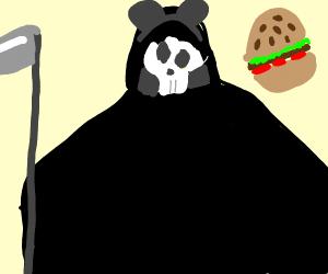 Grim Reaper let himself go.