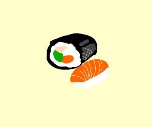 Sushi. Just sushi