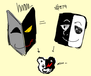 dimentio mask looks alot like SCP 079...